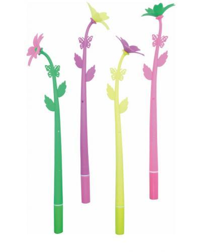 18-A0101400-18V-1273 花朵造型中性筆