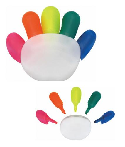 18-A0106800-18V-1121G 手指造型螢光筆