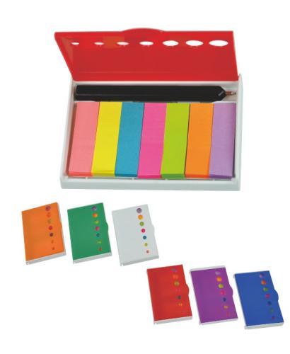 18-A0104800-18V-9002 原子筆+七色便籤盒