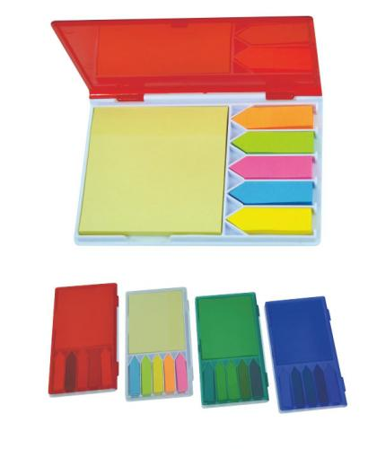 18-A0108800-18V-9003 五色便籤+便利貼盒