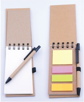 18-A0107200-9005-11 多功能環保筆記簿+筆