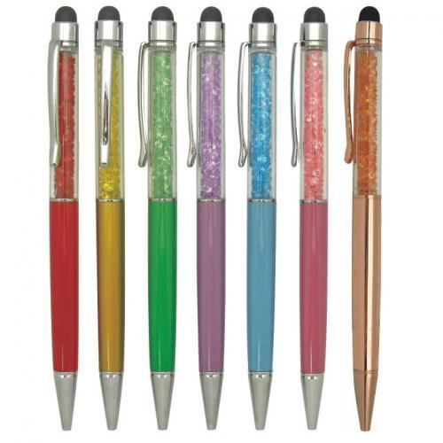 18-A0108400-5046-1 彩鑽觸控筆(含盒)