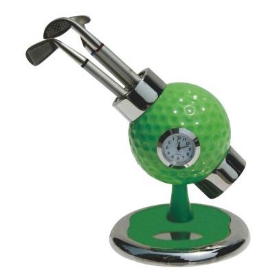 18-A010168300-8029 高爾夫球型座鐘組