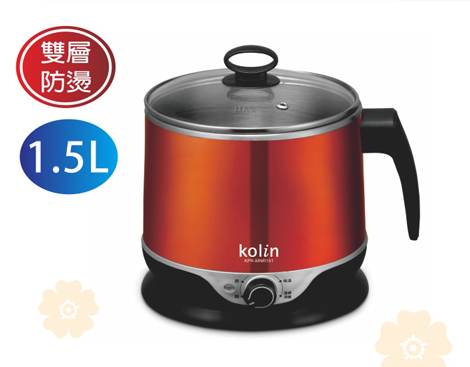 18-A095300000-KPK-MNR151 歌林雙層防燙不鏽鋼快煮壺