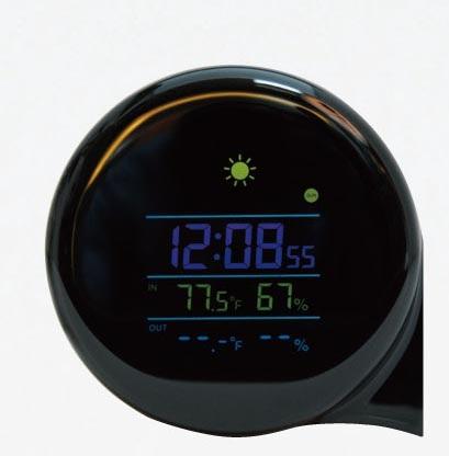 18-E066236000 小Q WiFi 天氣鐘