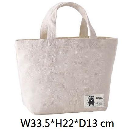 18-G04978400-175202T-WH deya熊帆布手提托特袋