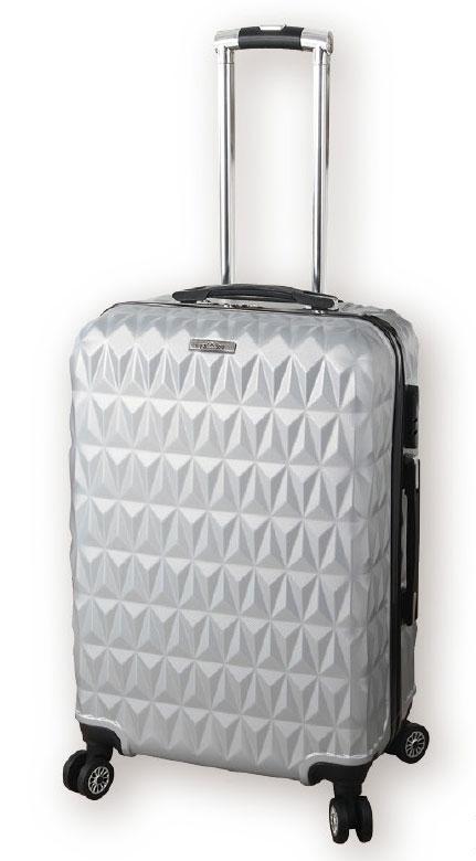 18-G080480000-1881 銀色水立方行李箱