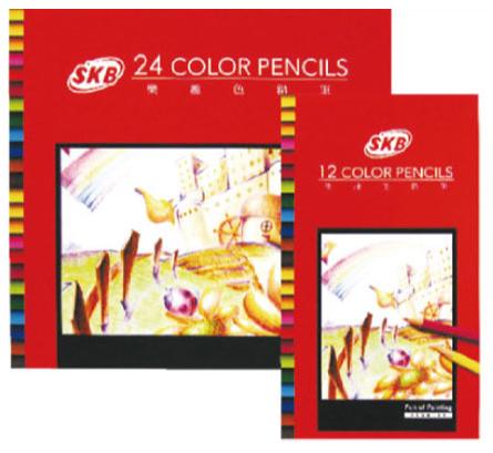 18-A01518000-NP-70-130 12色樂趣色鉛筆(紙盒)