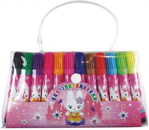 18-A01512000-FV-23 12色印張彩色筆PVC袋
