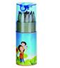 16-ABE0866900-MG 桶裝12色木頭廣告鉛筆+削筆器