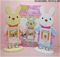 禮品公司 禮品 贈品 禮贈品-ACA02900-101012-08 - 兔子造型相框(訂購品)