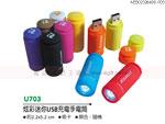 贈品 禮品王國 - AEB02326400U703 - 炫彩迷你USB充電手電筒