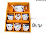 禮品 贈品 採購 禮贈品公司- AFB01696000CV15 - 花賞1+5茶具組