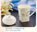 贈品 禮品王國 - AFD05480400EC9003 - 銀杏蓋杯