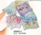 禮品 贈品 禮贈品 禮品公司-AJB04027200-70X70CM - 荷葉邊方巾