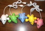 禮品公司 禮品 贈品 禮贈品-ALA02900-090709-11 - 老鼠造型HUB集線器(20K)