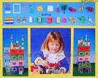 贈品 禮品王國 - AMF09400-01 - 城堡積木